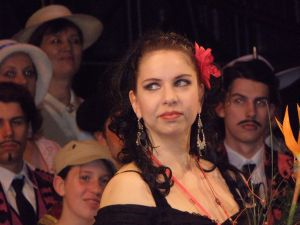 Jana Sykorova as Carmen, Ostrava National Moravian Silesian Theatre since 2010