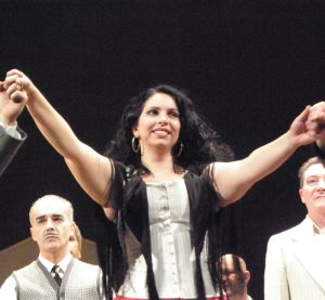 Jana Sykorova as Maddalena with Opéra de Dijon in an Yves Beaunesne production, with Maestro Roberto Rizzi Brignoli, 2010