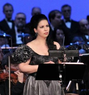 Jana Sykorova as Mignon, Prague State Opera concert performance on April 1st, 2012