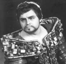 Ivan Kusnjer as the Count Luna (Il Trovatore), Prague Smetana Theatre 1989