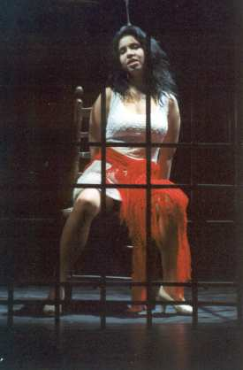 Jana Sýkorová as Carmen, Liberec City Opera 1998