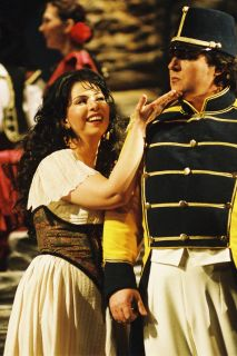 Jana Sykorova as Carmen, opera Carmen (Bizet), 