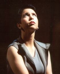 Jana Sykorova as Phaedra, opera Phaedra (Viklicky), 